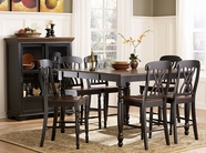 Homelegance 1393BK-36-24X4 Ohana Counter Height Dining Set
