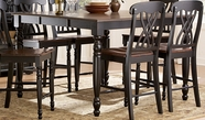 Homelegance 1393Bk-36 Ohana Counter Height Table