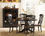 Homelegance 1393BK-48-1393BKSX4 Ohana Black Dining Collection
