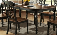 Homelegance 1393BK-78 Ohana Black Dining Table
