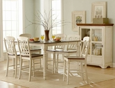 Homelegance 1393W-36-24X4 Ohana Counter Height Dining Set