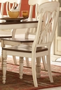 Homelegance 1393WS Ohana White Side Chair