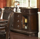 Homelegance 1394-40 Palace Server With Marble Top
