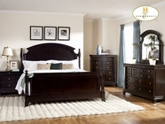 Homelegance 1402K-1EK Eastern King Panel Bed