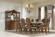 Homelegance 1437-120-1437S Golden Eagle Dining Set