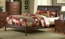 Homelegance 1440PUK-1EK-3 Rivera Pu Bed