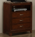 Homelegance 2112-11 Tv Chest, Paper Marble Top
