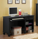 Homelegance 2119BK-15 WRITING DESK, BLK FIN