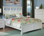 Homelegance 2119KW-1EK-3EK WHITE Sanibel Eastern King Bed