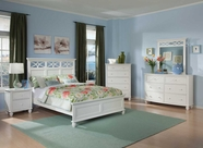 Homelegance 2119W-1-3-5-6 White Sanibel Bedroom Set