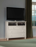 Homelegance 2119W-11 TV CHEST, WHITE