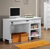 Homelegance 2119W-15 WRITING DESK, WHT FIN