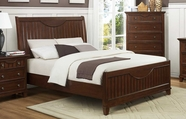 Homelegance 2136C-1-2-3 Alyssa Cherry Queen Bed