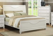 Homelegance 2136KW-1-2-3EK Alyssa White Eastern King Bed
