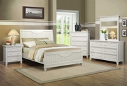 Homelegance 2136W-1-2-3-5-6 Alyssa White Bedroom Set