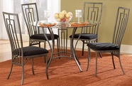 Homelegance 2415-42-4X2415S Flight Dining Set