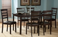 Homelegance 2433-60-4X2433S Market Dining Set