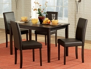 Homelegance 2434-48-4X2434S Dover Dining Set