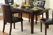 Homelegance 2456-64 DINING TABLE with MARBLE TOP