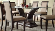 Homelegance 2467-72-72G Plano Dining Table - Dark Espresso