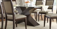Homelegance 2468-72-72G Bering Dining Table - Dark Espresso