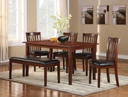 Homelegance 2513 6PC DINETTE SET(TB,4S,1B),MINDY