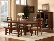 Homelegance 2515-96-4X2515S Clayton Dining Set