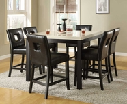 Homelegance 3270-36-24S1Bk Archstone Counter Height Dining Set