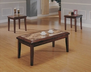 Homelegance 3276-31 Belvedere 3 Piece Pack Occasional Tables