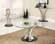 Homelegance 3400-01-04-05 Charlaine Occasionals Coffee Table Set