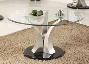 Homelegance 3400-01 Charlaine Round Cocktail Table