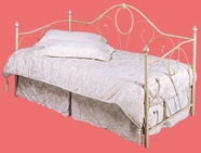Homelegance 4017 Casted Iron Daybed With Sandstone Finish