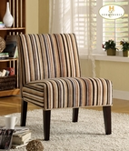 Homelegance 468F7S(3A) Lounger Chair In Fabric (Strip)