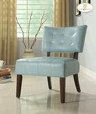Homelegance 489Bl Warner Accent Chair