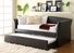 Homelegance 4956PU-C(3A) Daybed with Trundle