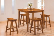 Homelegance 5302A Saddleback 5 Pc Dinette Set