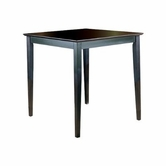 Homelegance 5302Bk-36(3A) Sand Through Square Pub Table