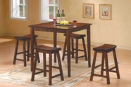 Homelegance 5302C Saddleback 5 Pc Dinette Set