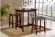 Homelegance 5310C 3-Piece Pack Counter Height Set