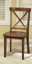 Homelegance 5335-S1 Henley Side Chair X Back