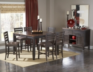 Homelegance 5341-36-24 Natick Counter Height Dining Set
