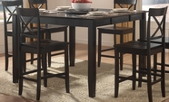 Homelegance 5366-36 Billings Counter Height Dining Table With Lazy Susan