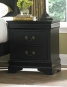 Homelegance 539Bk-4 Marianne Night Stand