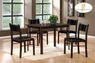 Homelegance 5446 5PC PACK DINETTE SET, P/U