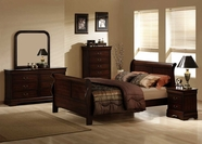 Homelegance 549-1-5-6 Chateau Brown Bedroom Set