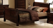 Homelegance 549-1 Chateau Brown Queen Bed
