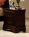 Homelegance 549-4 Chateau Brown Night Stand