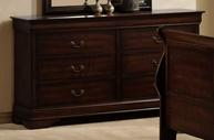 Homelegance 549-5 Chateau Brown Dresser