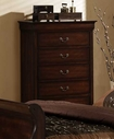 Homelegance 549-9 Chateau Brown Chest