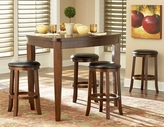 Homelegance 586-32-24STX4 Ameillia Counter Height Dining Set